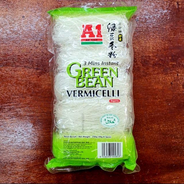 A1 green bean vermicelli 250gm 绿豆冬粉
