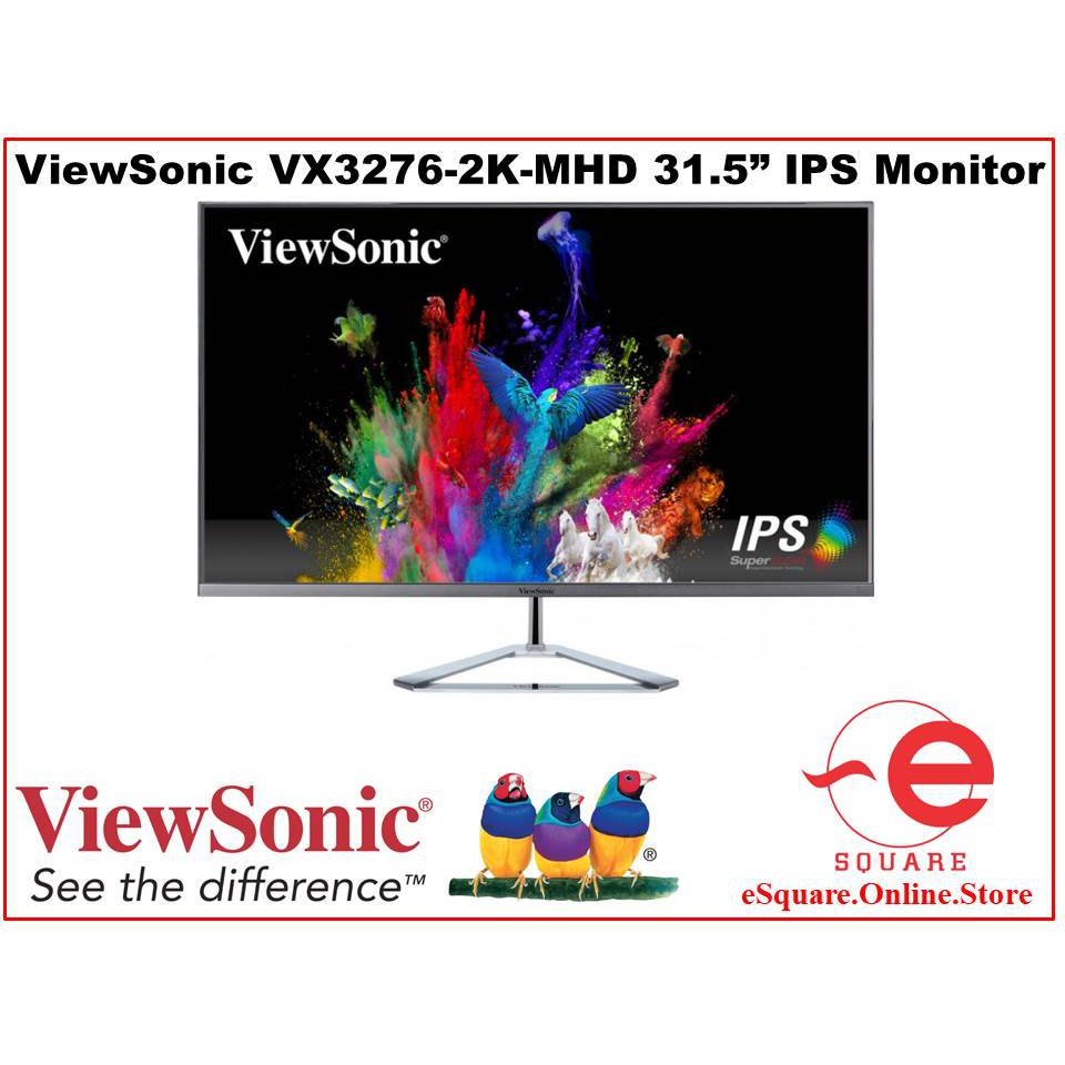 Viewsonic VX3276-2K-MHD 2K IPS LED Monitor