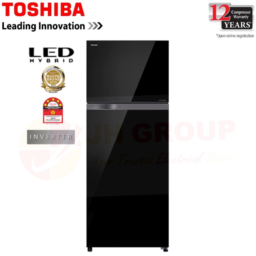 TOSHIBA GR-AG48MDZ(XK) 480L INVERTER 2 DOOR REFRIGERATOR *SIMILAR R-VG490P8M