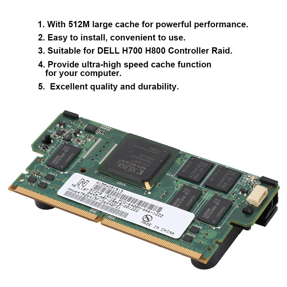 Series 512MB Array Card DELL H800 for Raid Cache H700