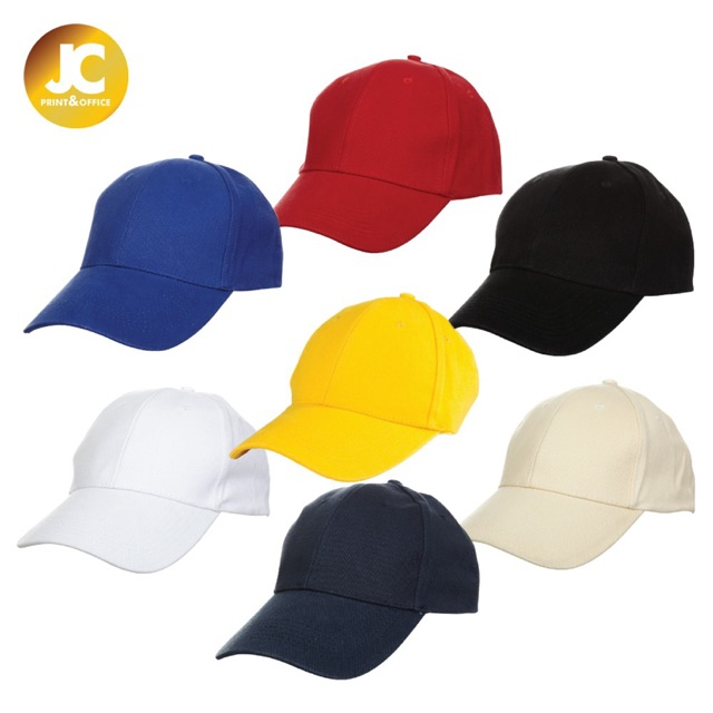 OREN SPORT SuperThick Baseball 6 Panel Cotton Brush Cap - 7 Colors (Unisex)  CP01