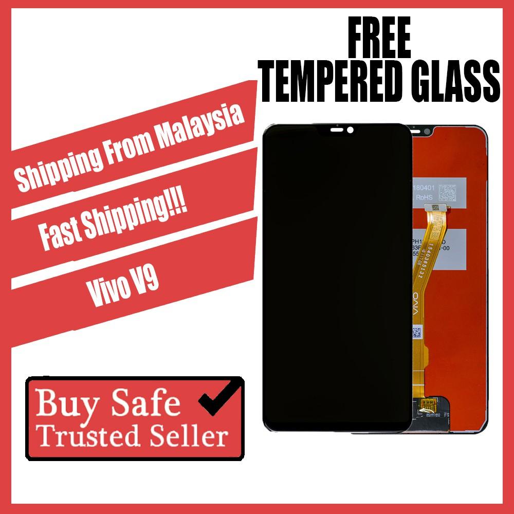 LCD Screen Digitizer Vivo V3, V3 Max, V5, V9 FREE Tempered Glass