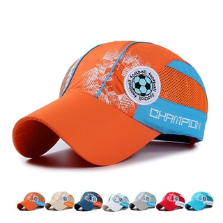 aece84dea Kids Students Letter Print Tennis Casual Caps Football Hat | Shopee ...