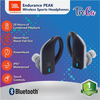 JBL Endurance Peak Truly Wireless Waterproof Sports In-Ear