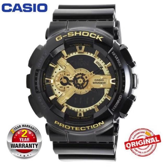 81203f5e72b Hot Sale)Original Casio G-Shock Wrist Watch Men Sport Watches GA110 ...