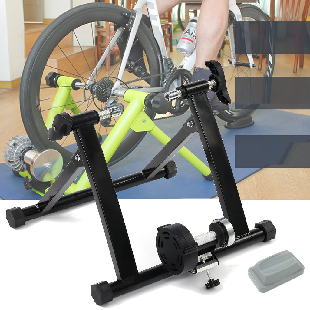 Indoor Bicycle Cycling Parabolic Roller Trainer Frame 150KG Max Bike Exercise US