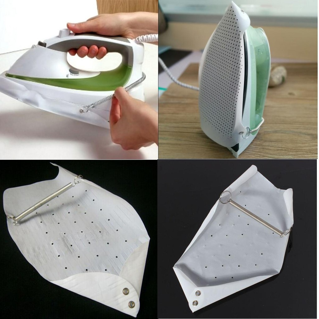 Iron Shoe Non-stick Cover Ironing Aid Board for Protect Fabric Cotton Cloth