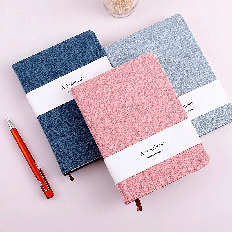 A5 Line And Blank Notebook Diary Ruled Plain Blank Journal
