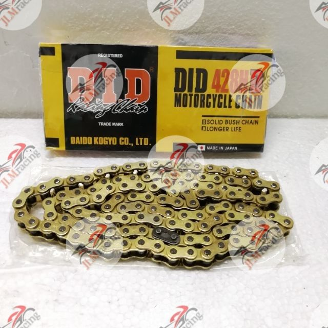 428 520 530 Fire Power Gold Heavy Duty Motorcycle Chain Choose Size Length