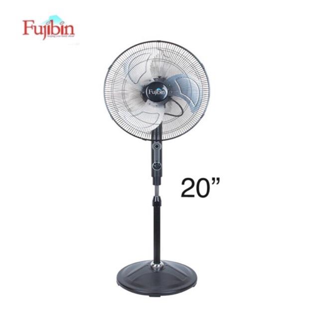 Fujibin FBS-20BLK 20'' Industrial Stand Fan (Black)
