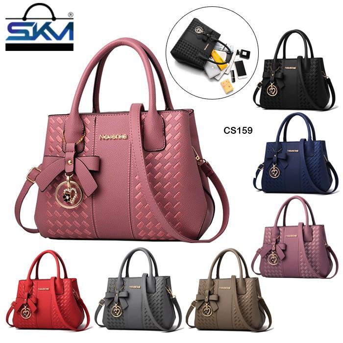 fd75063ee8e5 SKM 2019 Luxury Lady Women Handbag Synthetic Leather Tote Shoulder Bags CS  159