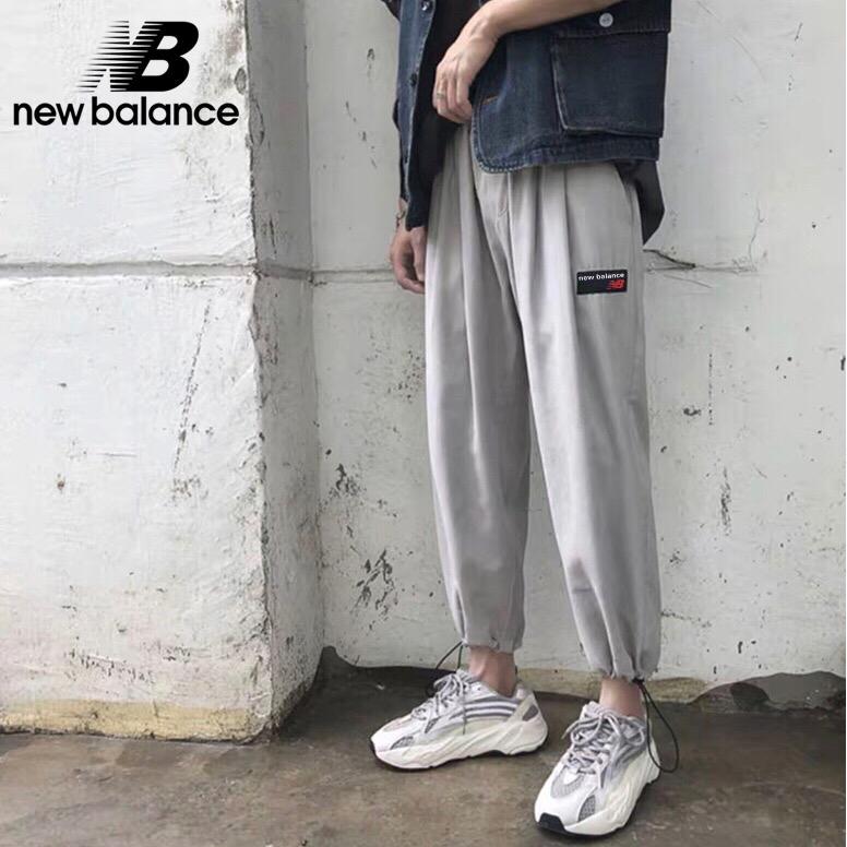 117d2074ca5bd New Balance Men's sweatpants woman pants couple clothing fashion T327    Shopee Malaysia
