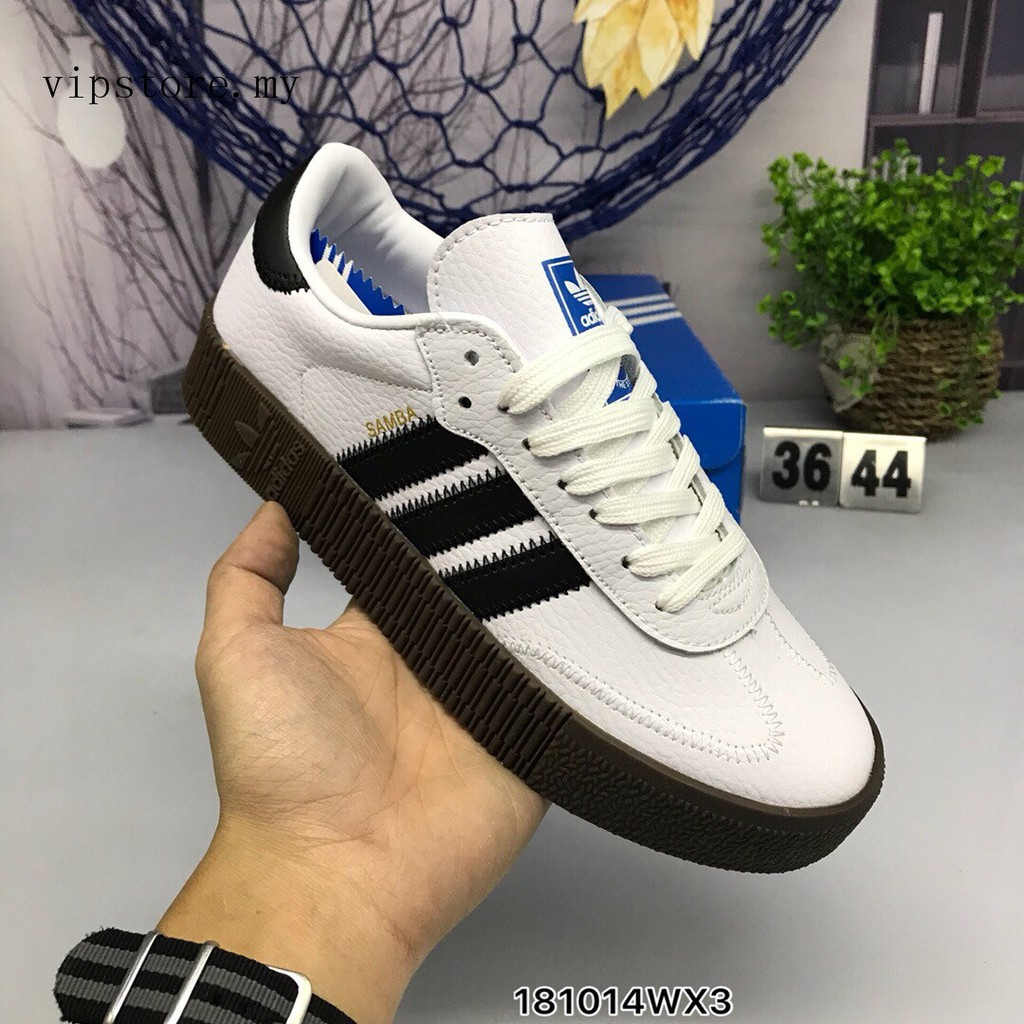 Ready Stock Adidas men women shoes lace up sneakers low top shoes comfortable