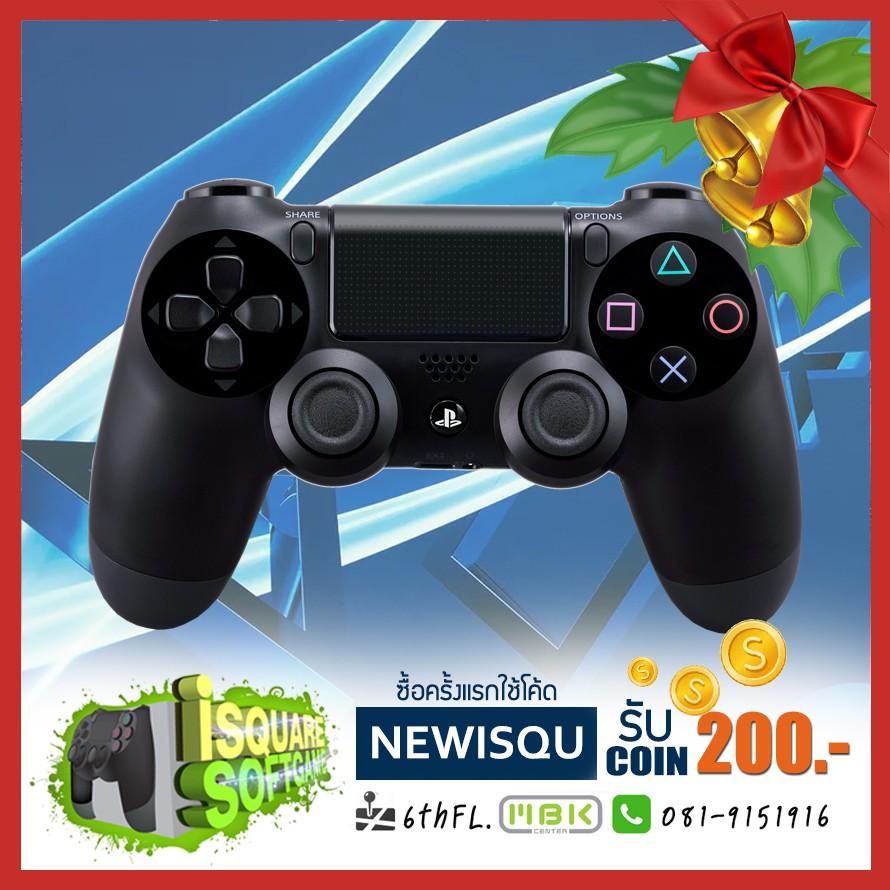 Joy PS4 Controller JetBlack DualShock 4 สินค้าประกันศูนย์ 1ปี สินค้าลดราคา