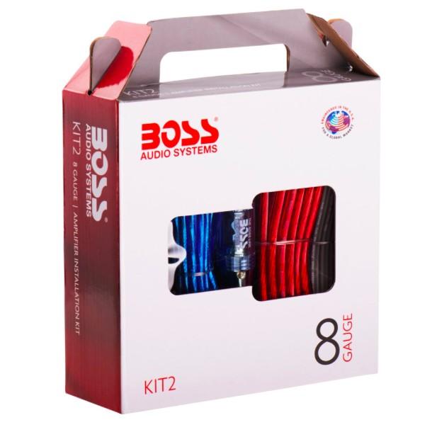 Boss Audio Systems KIT2 8 Gauge Amplifier Installation Wiring Kit