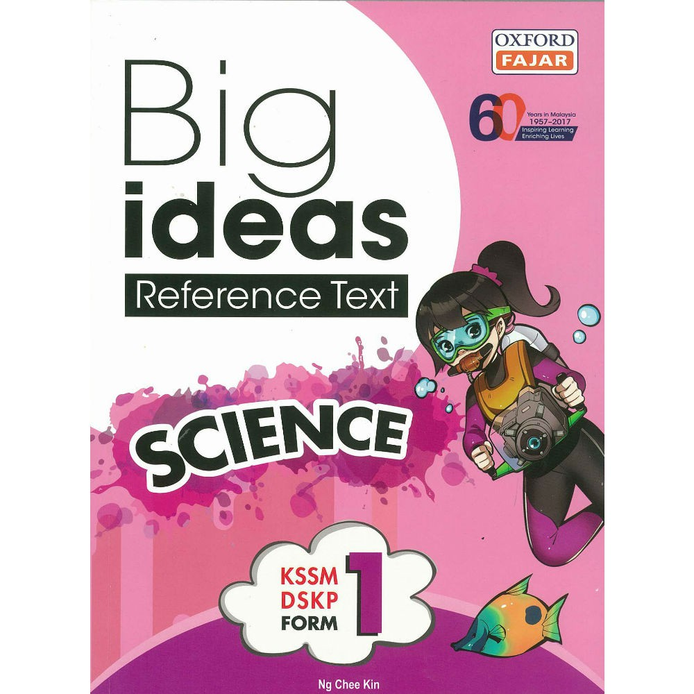 Big Ideas Reference Text Science Form 1 Kssm Dskp Shopee Malaysia