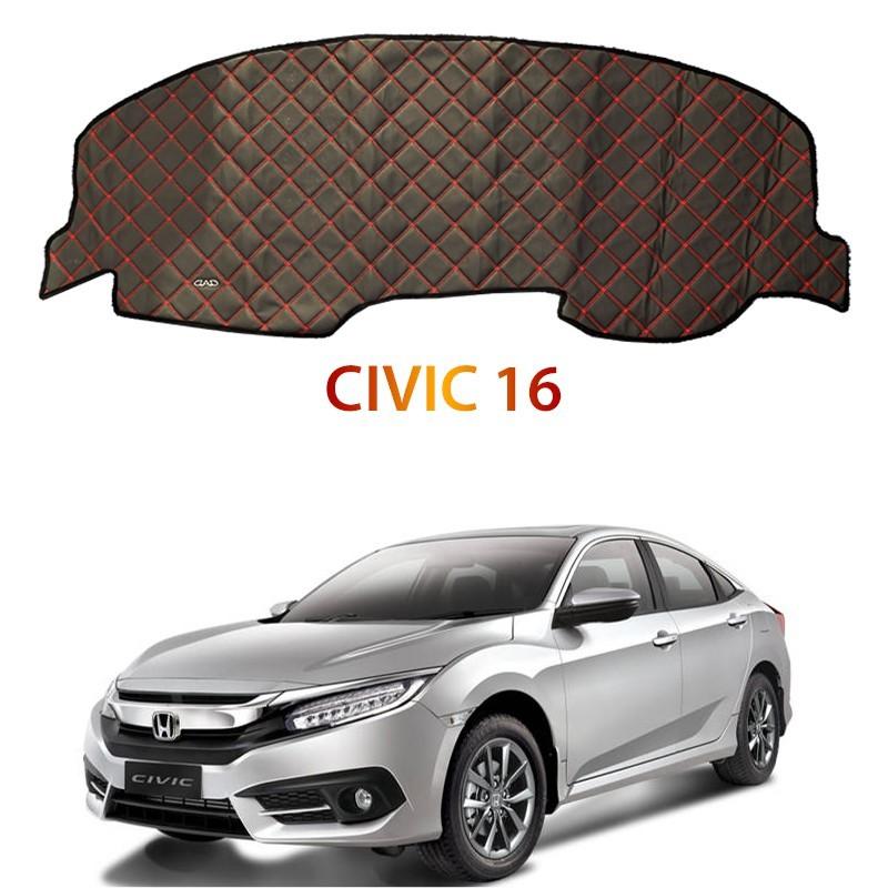 Honda CIVIC 16 DAD Non Slip Car Dashboard Cover