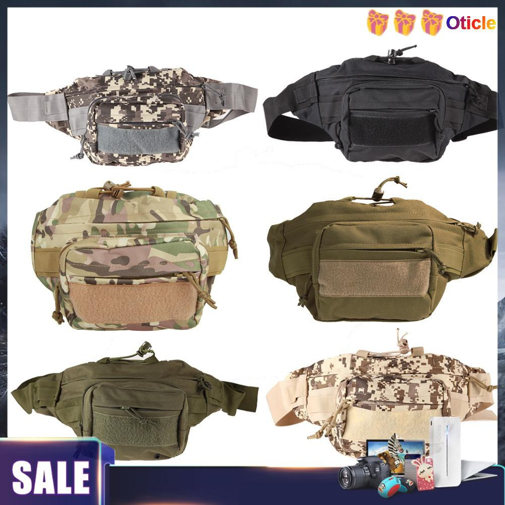 New 2019 Waist Bag Fanny Pack Outdoor Sport Pouch Military Camping Hike Crosbody