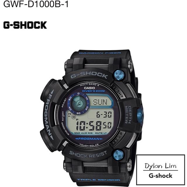 Casio G-shock Frogman GWF-D1000B-1 GWF-D1000  Multiband6  Toughsolar 100%  Ori  d72ce5e0d0