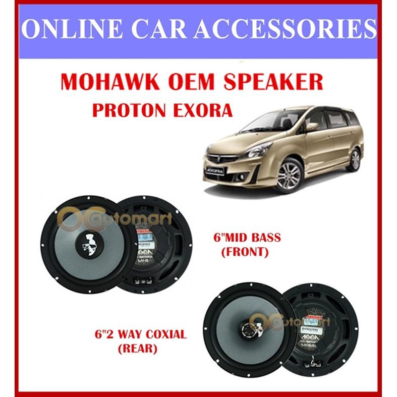 MOHAWK Universal Front & Rear Speaker For PROTON,PERODUA,TOYOTA,HONDA,NISSAN-(Proton Exora)
