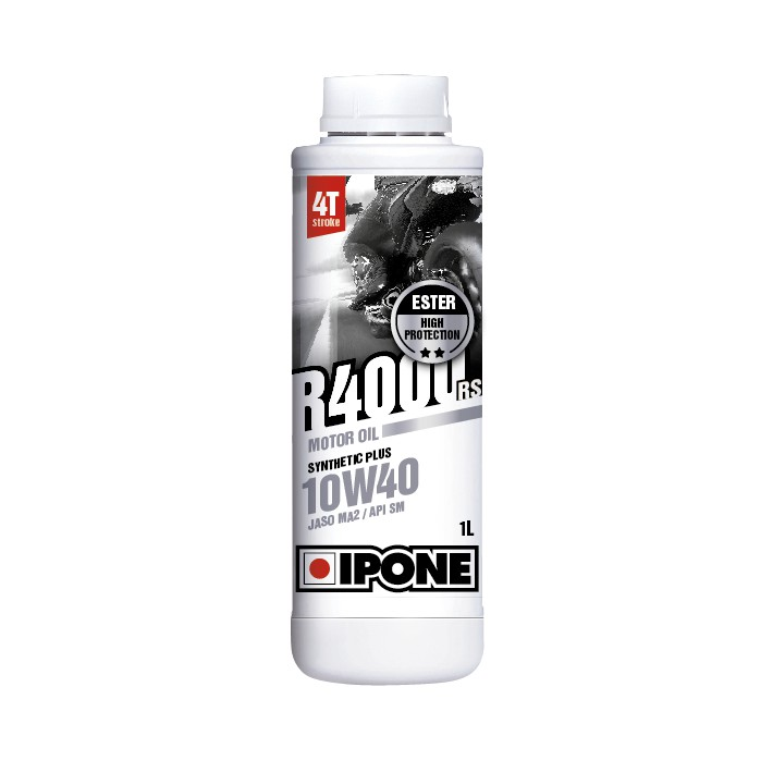IPONE R4000 RS 10W40 4T 1 Liter Motorcycle Engine Oil