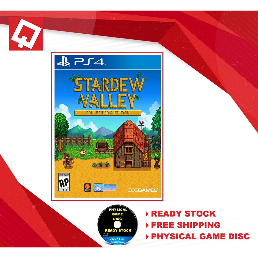 [NEW] PS4 Stardew Valley R-ALL [ENG] Collector's Edition | Shopee Malaysia