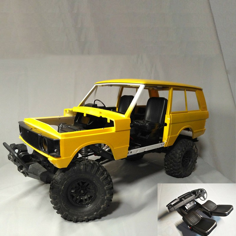 RC 1/10 Scale Interior Kit Set for Classic Range Rover Hard Body trx-4 scx10