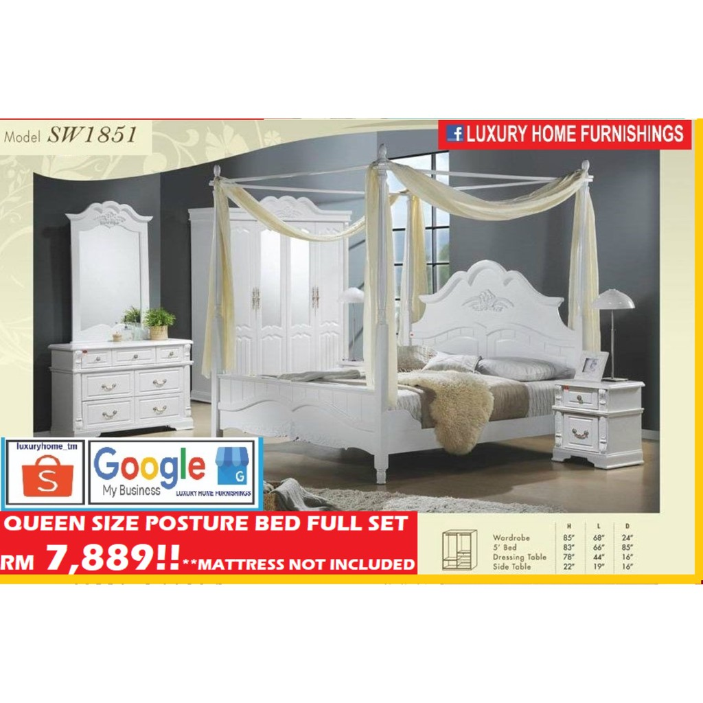 BED ROOM SET COLLECTION E