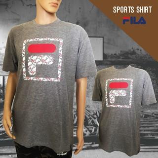 25ff64cb22 FILA 0302 Basic T Shirt (Grey)