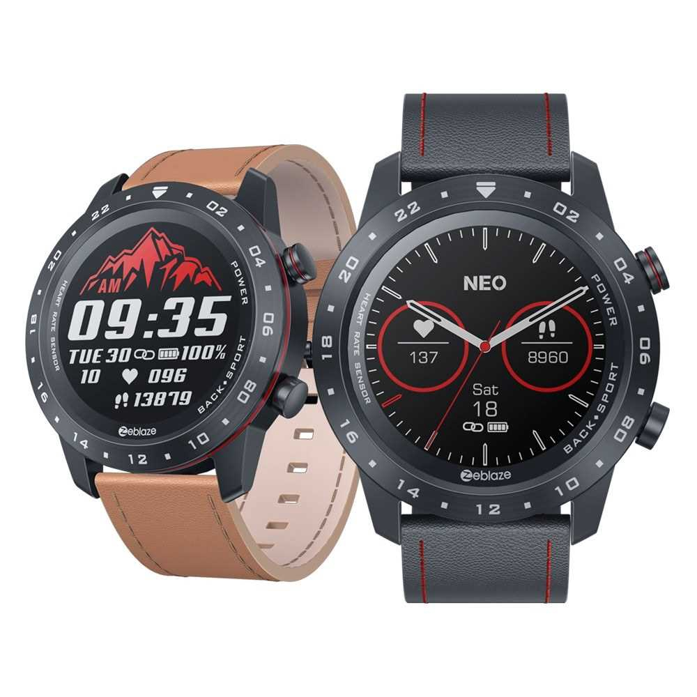 Zeblaze NEO 2 Smart Watch Fitness Watch Sports Multi-functional Watch 1.3 (Orange)