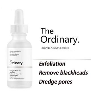 The Ordinary 2 Salicylic Acid Facial Serum Shrink Pores Closed
