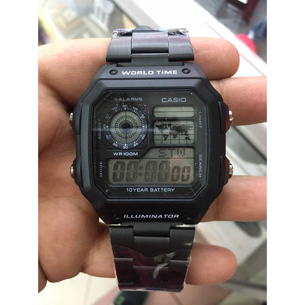 Original Authentic Casio F 91w 94 Mens Watch Black Shopee Jam Tangan Wanita Ltp 1094e 7b Malaysia