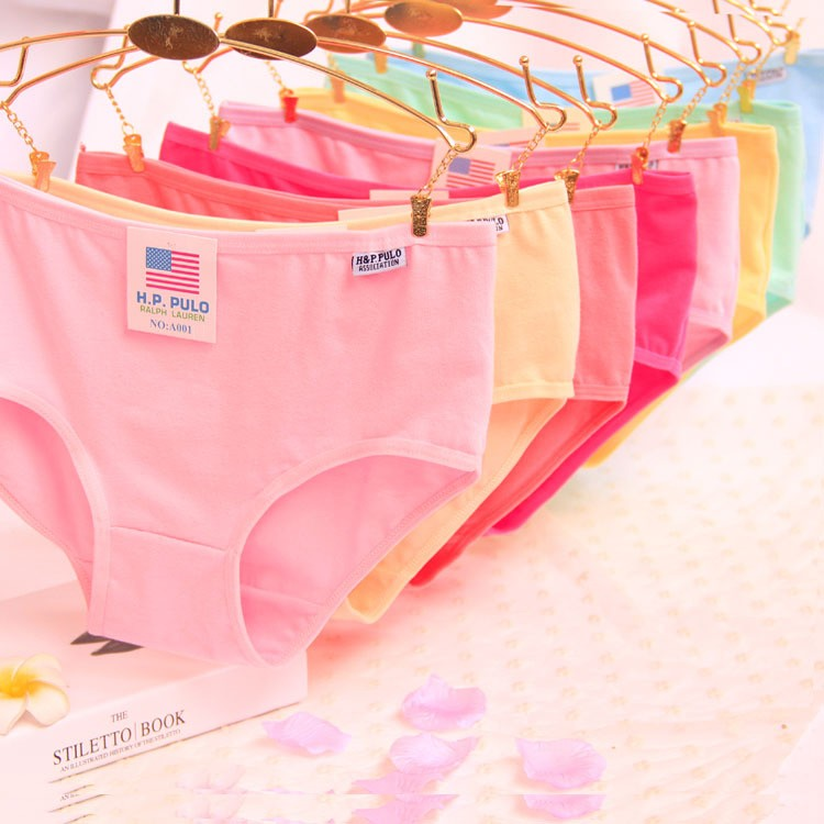 138e0f870 5pcs High Waist Slim Briefs Soft Breathable Strong Elastic Underpants  Simple Wom