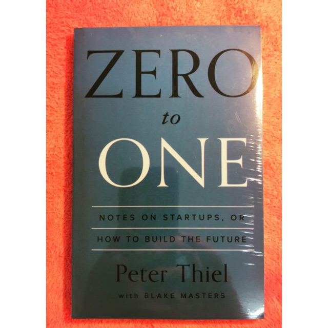【Ready Stock】Zero To One