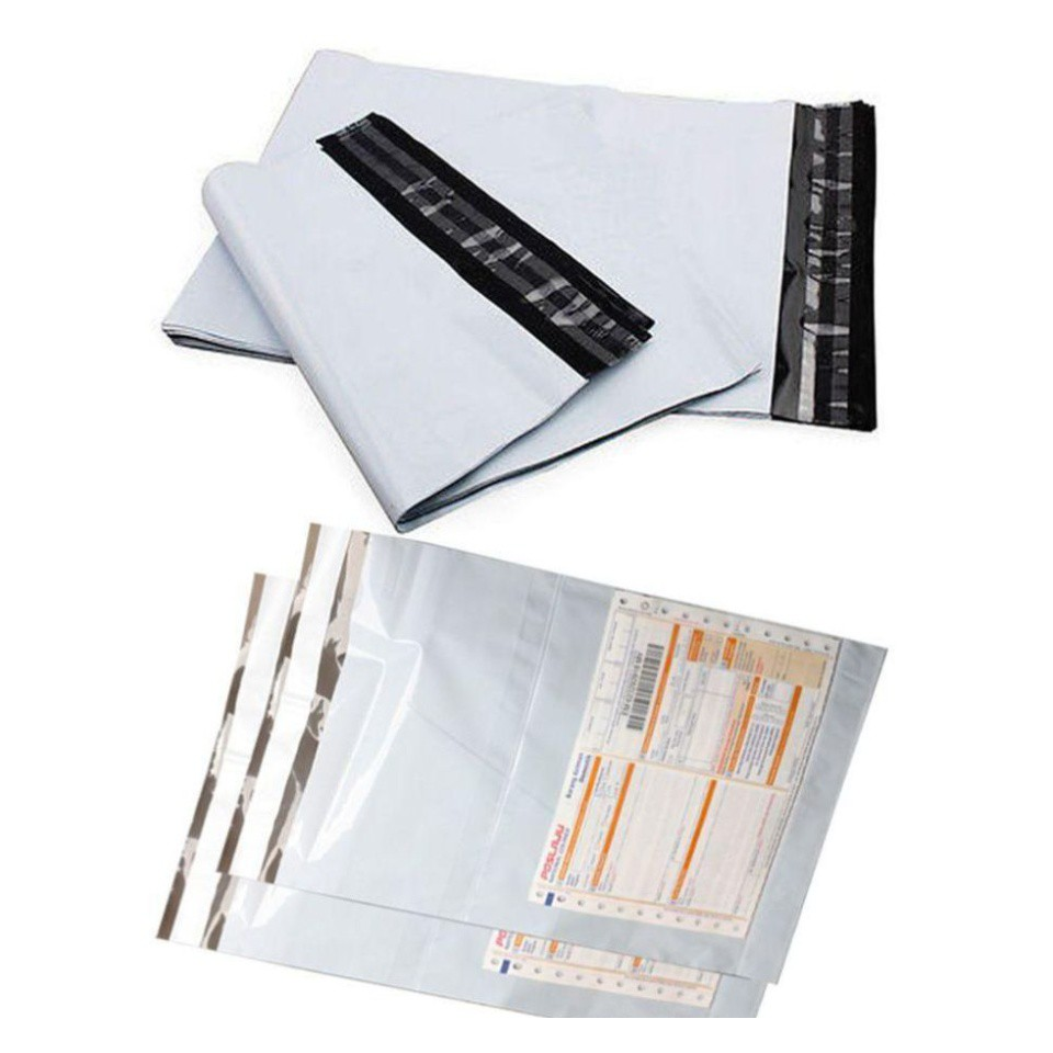 Ship 24 Hours 100 pcs per pack Postage Shipping Plastic Packaging Delivery Parcel Flyer Flyers Pos Kurier Plastik 快递袋