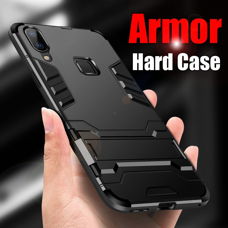 Vivo V11i V11 Y81 V9 V7 Plus Y53 Y79 Y85 Casing Iron Man Armor Shockproof Case | Shopee Malaysia