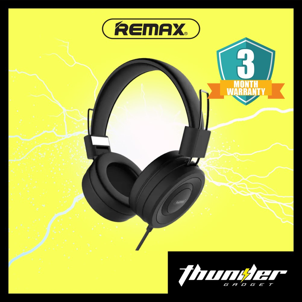 Remax RM-805 Wired Stereo Noise Cancelling Headphones 4D Sound Headset HD Stereo