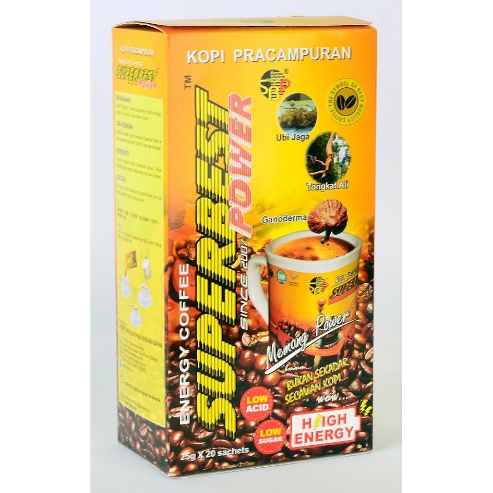 KOPI SUPERBEST POWER ENERGY COFFEE 25G X 20SACHET 100% ORIGINAL HQ+FREEGIFT