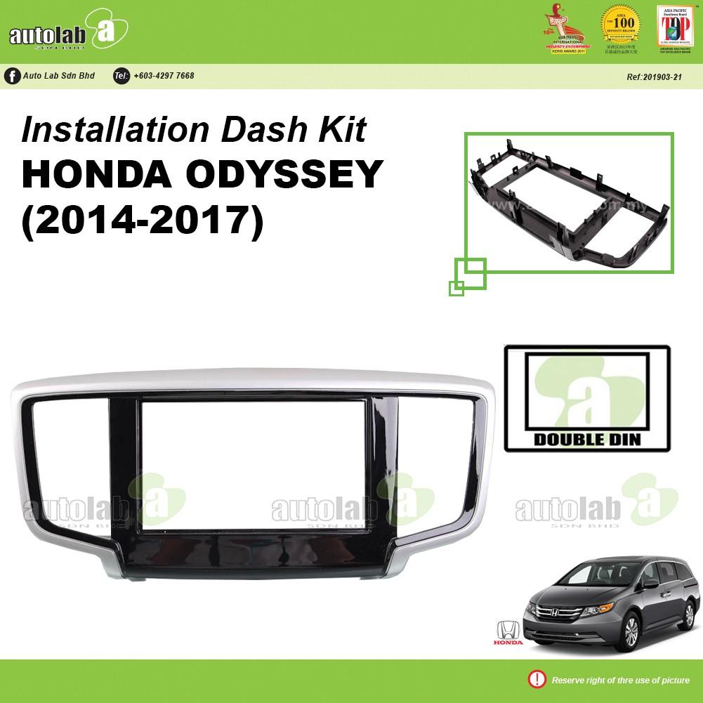Player Casing Double Din Honda Odyssey 2014-2017