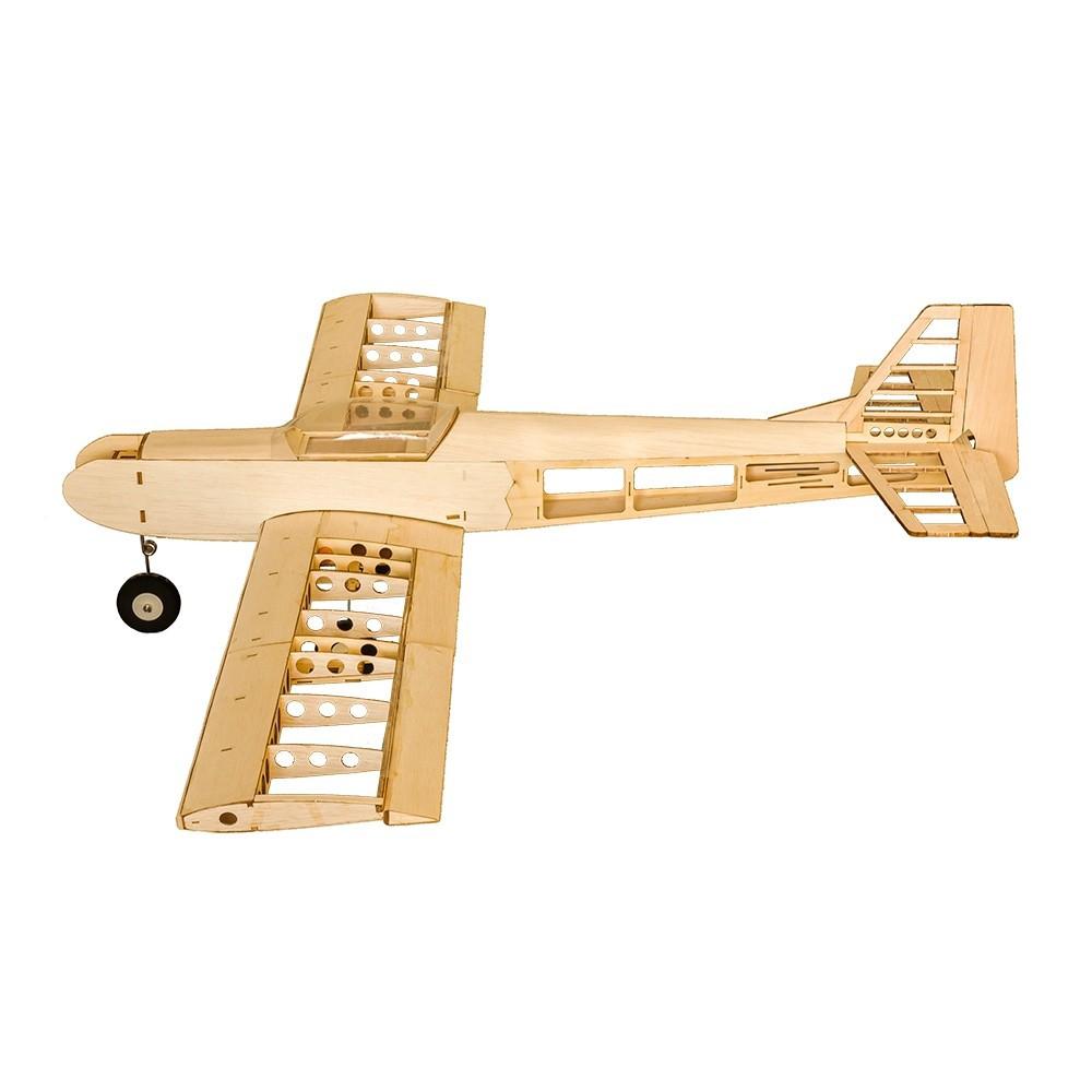 👍WOW👍 T30 1400 1 4m Wingspan Balsa Wood Trainer RC Airplane DIY Model ✈