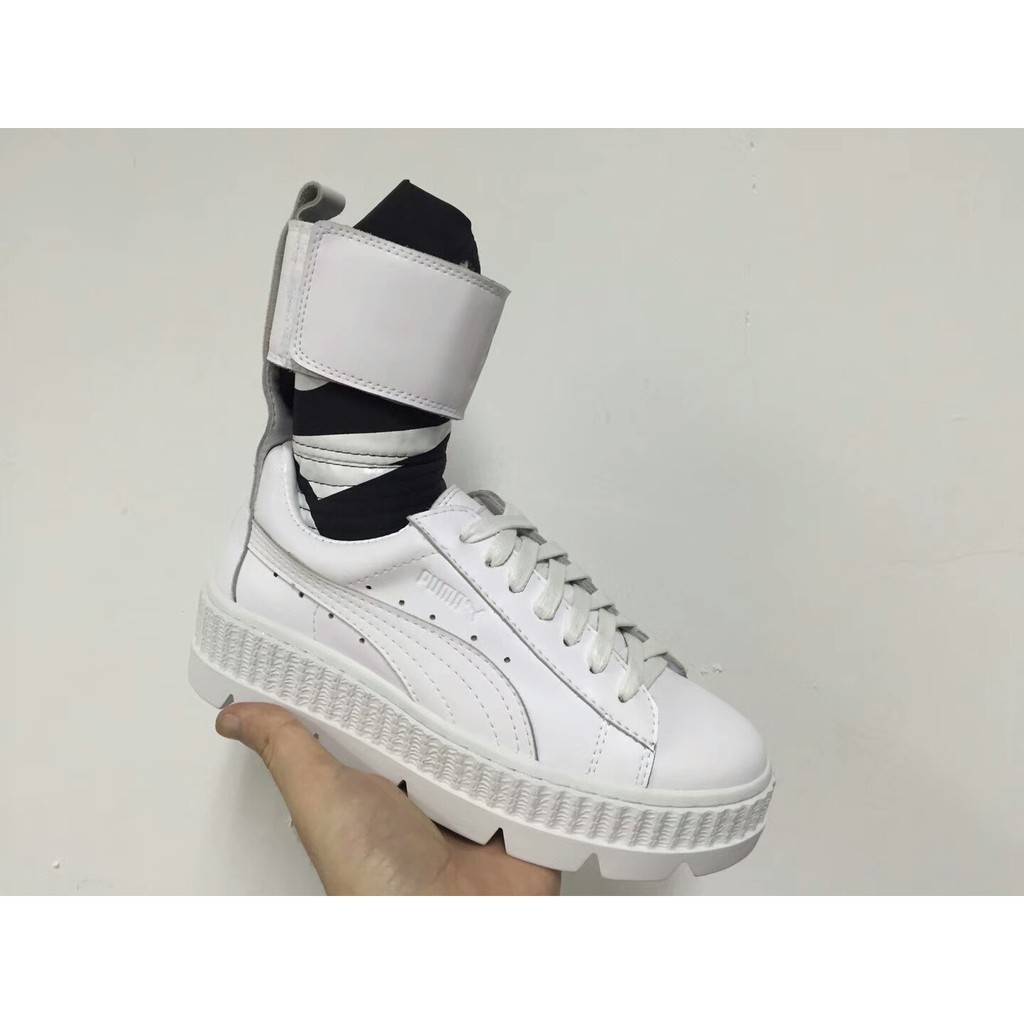 fenty x puma ankle strap platform sneakers