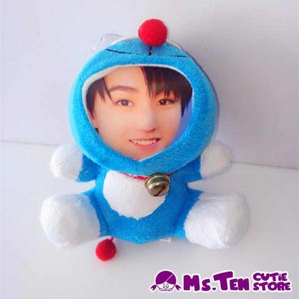 Creative Special Gifts Customized DIY 3D Face Toys Doraemon