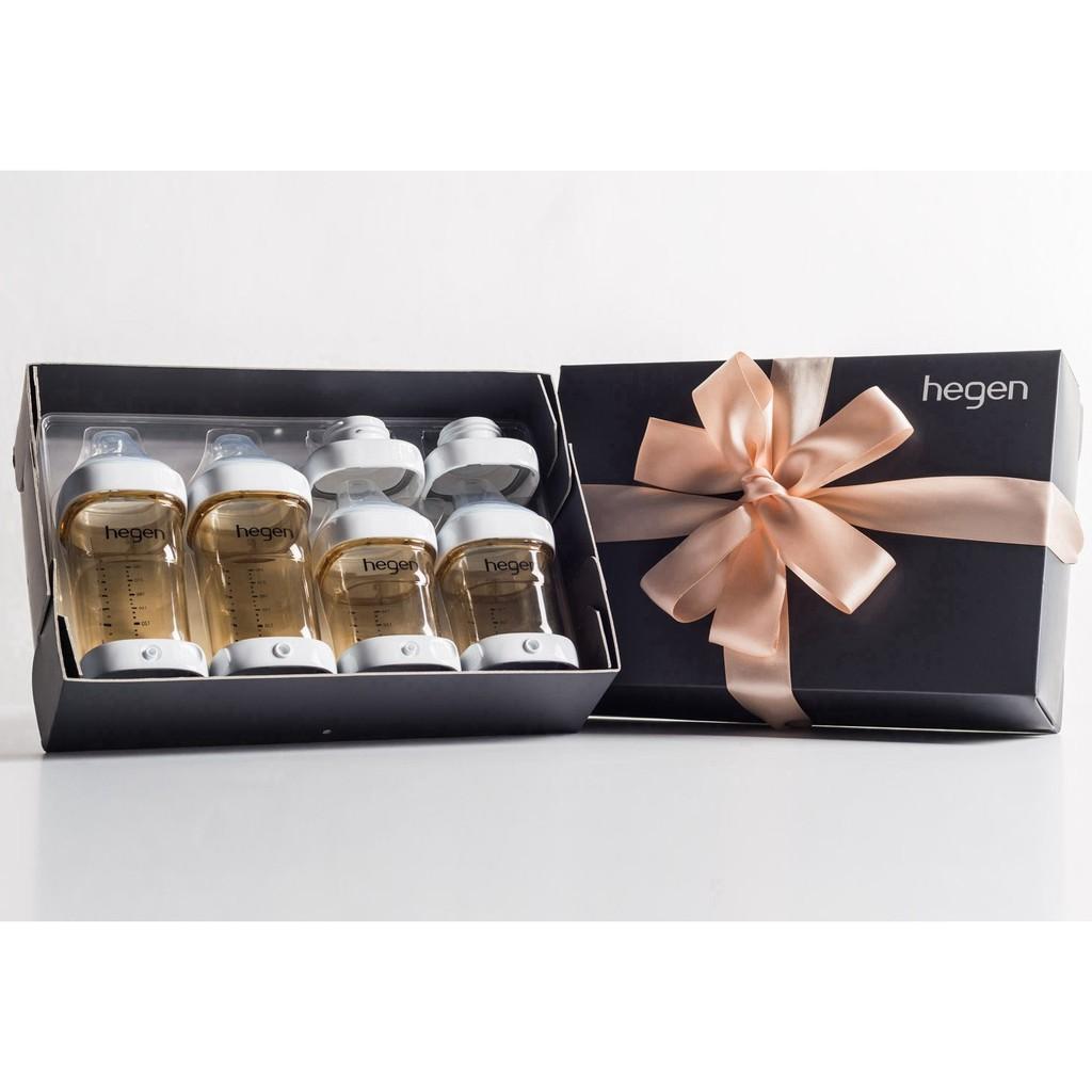 Hegen Pcto 240ml 8oz Feeding Bottle Ppsu Shopee Malaysia Teat Medium Flow 3m 2 Pack