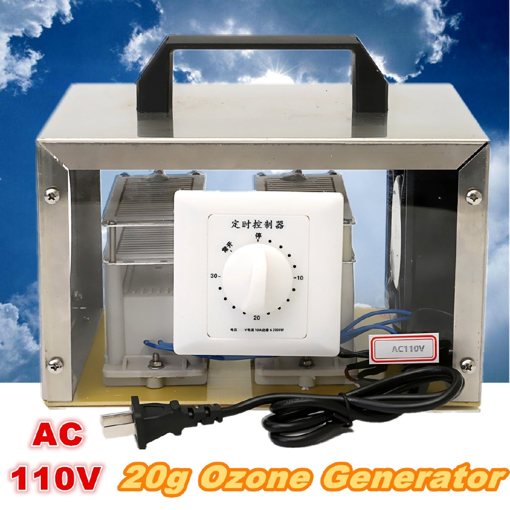 110V 20g Commercial Ozone Generator Living Air Purifiers