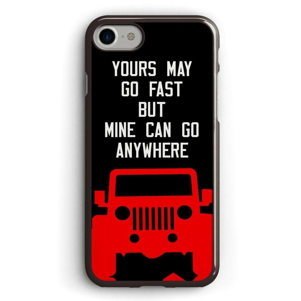 Jeep Adventure Quote iphone case