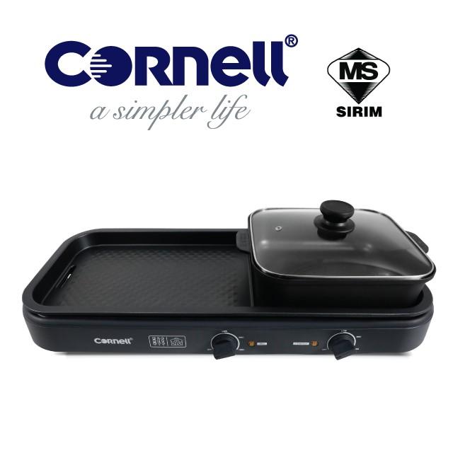 [NEW ARRIVALS] Cornell Table Top Grill With Hot Pot CCG-EL98DT/BBQ Korea Pot