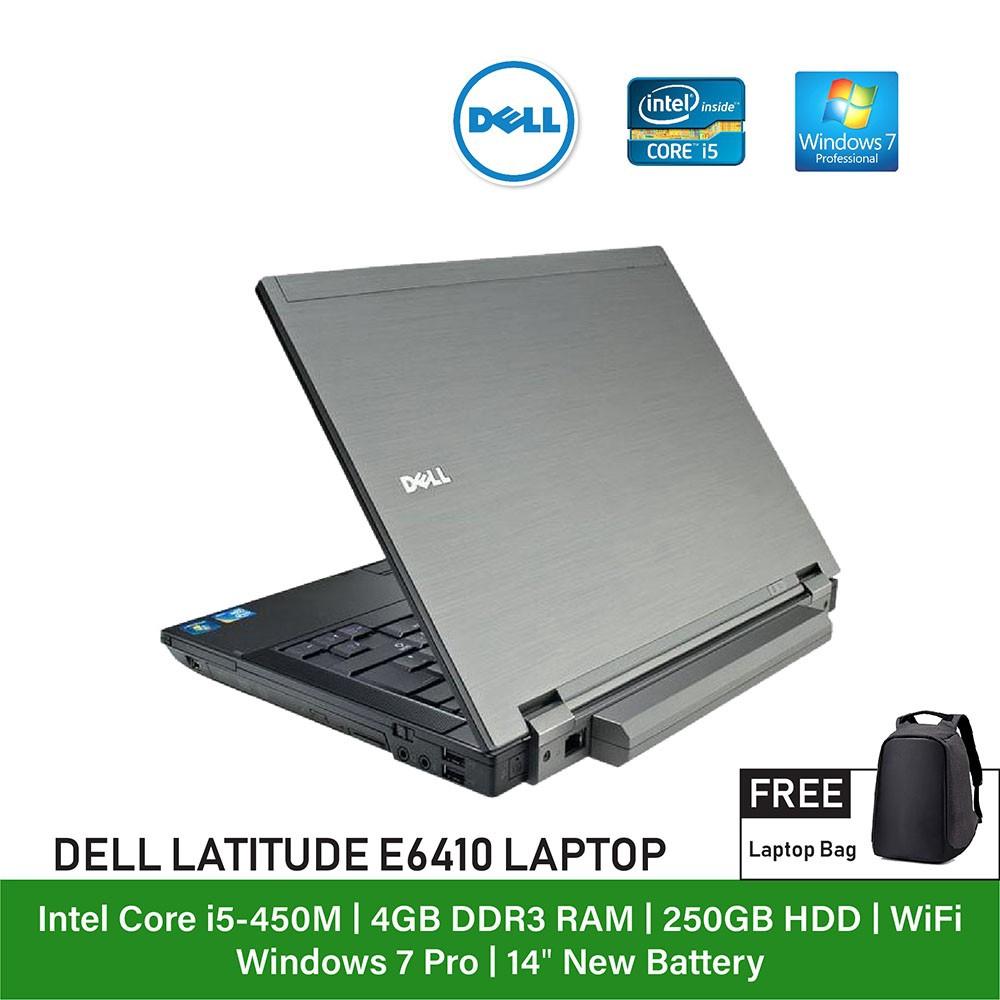 (Refurbished Notebook) Dell Latitude E6410 Laptop / Intel Core i5