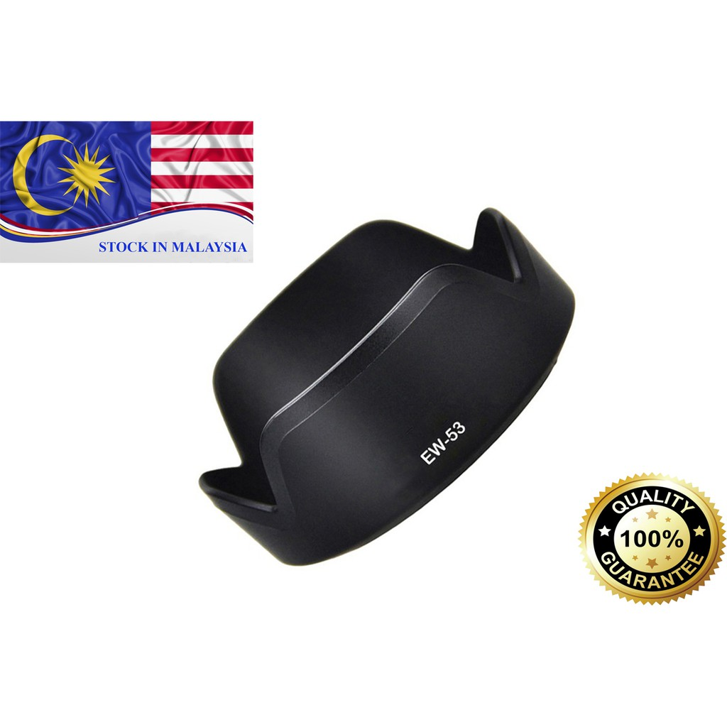 EW-53 Lens Hood For Canon EF-M 15-45mm f/3.5-6.3 IS STM lens (Ready Stock In Malaysia)