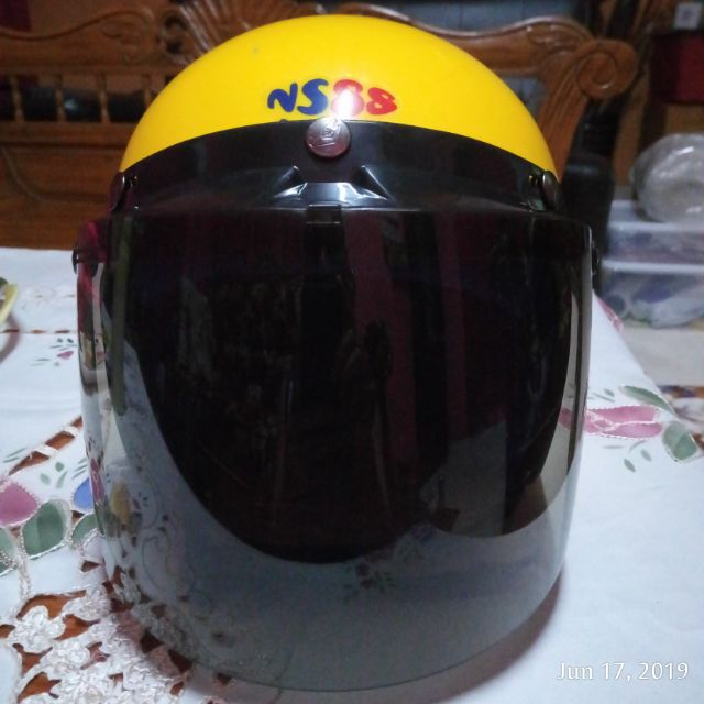 NS88 Kids Children Helmet Motorcycle with SIRIM Sticker (Size 57)
