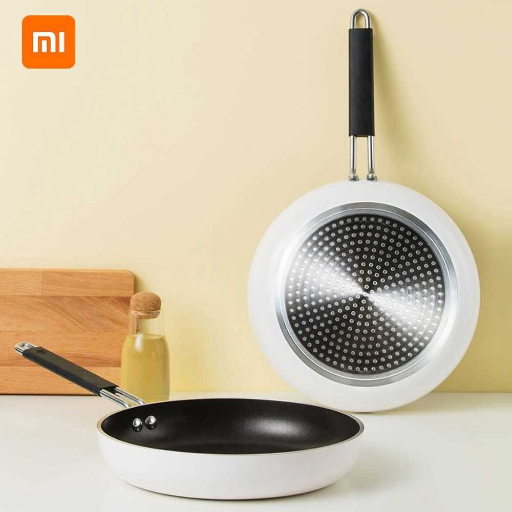 Xiaomi Youpin Cooking Frying Pan Skillet Nonstick Fry Pan Induction Compatible Multipurpose Cookware Use Gas Stove Fryi